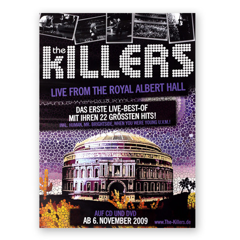 Killers, The - Live From The Royal Albert Hall Poster