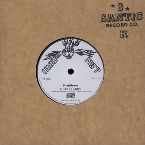Horace Andy / Augustus Pablo - Problems / Peace And Love Dub