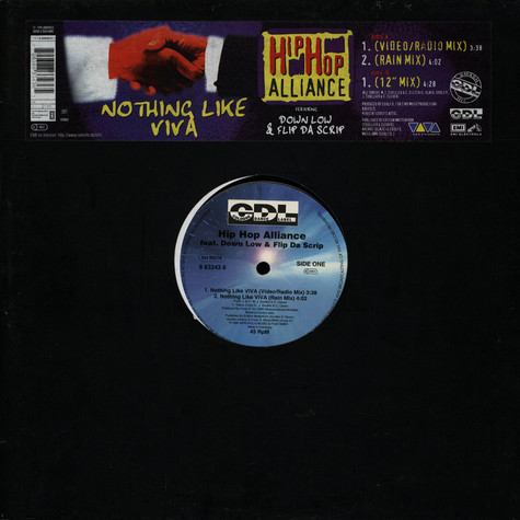 Hip Hop Alliance Feat. Down Low & Flip Da Scrip - Nothing Like Viva