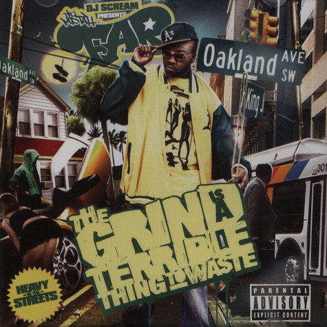 DJ Scream & Mistah Fab - Grind Is A Terrible Thing To Waste