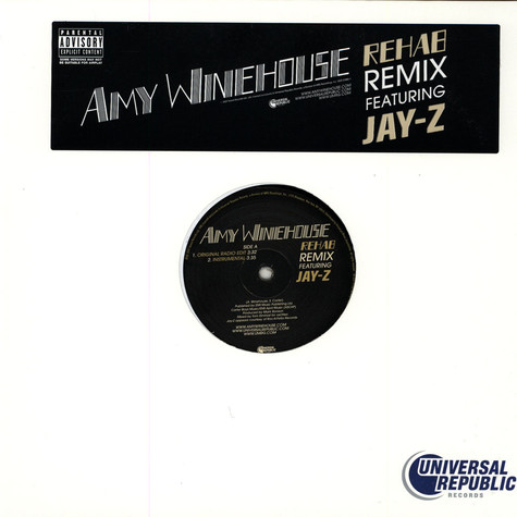 Amy Winehouse Featuring Jay-Z - Rehab Remix