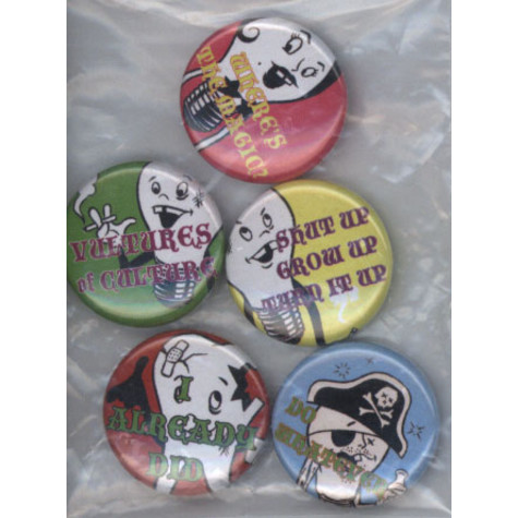 Queens Of The Stone Age - Bulb Family 5 Button Set
