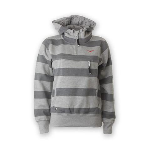 Cleptomanicx - Hooded Stripe Special Women Hoodie