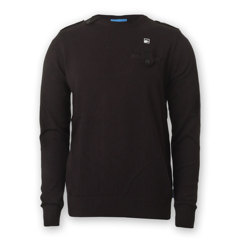 Supremebeing - Ombre Crew Neck Knit Sweater