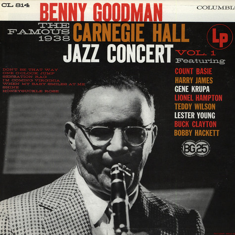 Benny Goodman - Carnegie Hall Jazz Concert Vol. 1