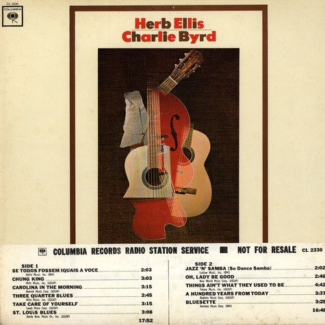 Herb Ellis - Charlie Bird - Guitar -Guitar