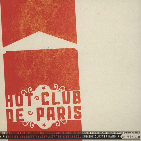 Hot Club De Paris - The Rise and Inevitable Fall of the High School Suicide Cluster Band EP