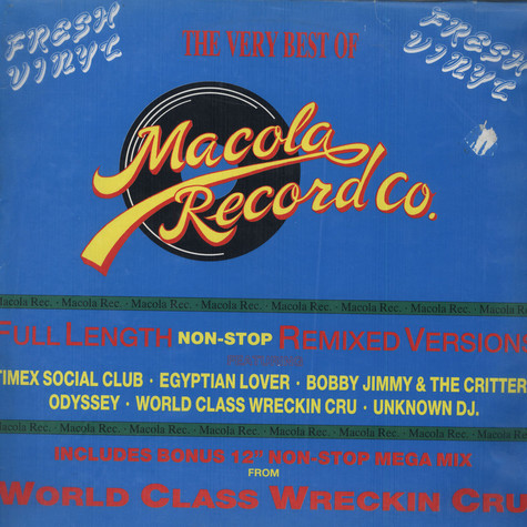 V.A. - The Very Best of Macola