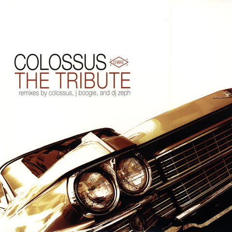 Colossus - The tribute remixes