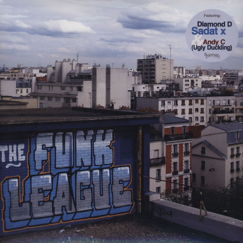 Funk League, The - The Boogie Down Bombers Feat. Diamond D & Sadat X