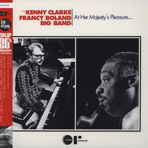 Kenny Clarke & Francy Boland Big Band - At Her Majestic Pleasure