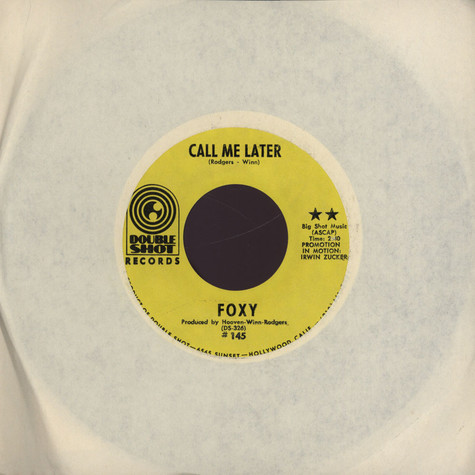 Foxy - Call Me Later