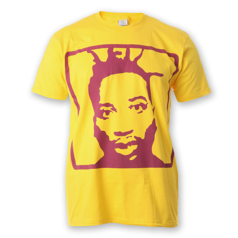 Ol Dirty Bastard - Icon Light on Yellow T-Shirt