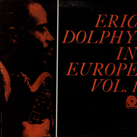 Eric Dolphy - Eric Dolphy In Europe Vol.1