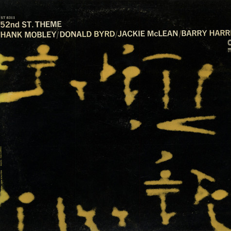 Hank Mobley / Donald Byrd / Jackie McLean / Barry Harris - 52nd St. Theme