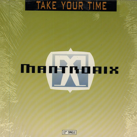 Mantronix - Take your time feat. Wondress