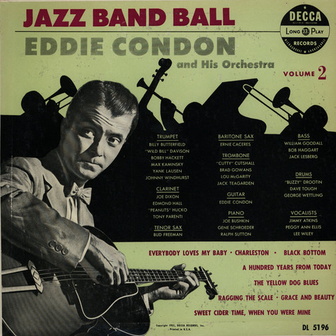 Eddie Condon And His Orchestra - Jazz Band Ball Volume 2