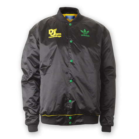 28778968ab4c adidas x Def Jam - DJ Stadium Jacket (Black   Fairway)