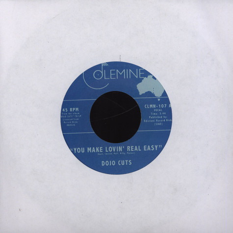 Dojo Cuts - You Make Lovin Real Easy feat. Roxie Ray
