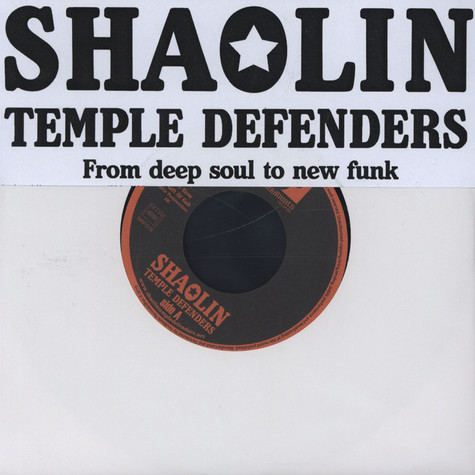 Shaolin Temple Defenders - Take It Slow Feat. Gift Of Gab of Blackalicious