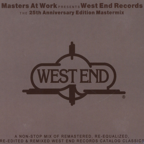 V.A. - Masters At Work Present West End Records: The 25th Anniversary Edition Mastermix