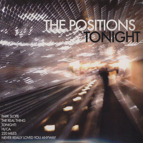 Positions, The - Tonight!