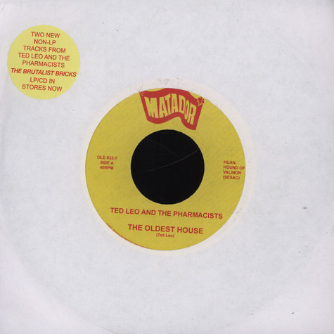 Ted Leo and the Pharmacists - The Oldest House