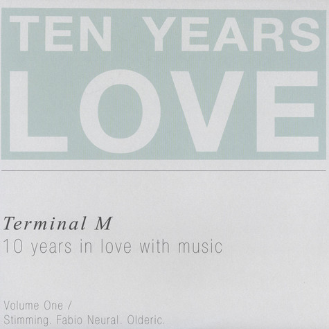 V.A. - 10 Years In  Love With Music: Volume 1