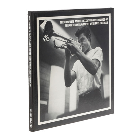 Chet Baker Quartet, The - The Complete Pacific Jazz Studio Recordings Of The Chet Baker Quartet With Russ Freeman