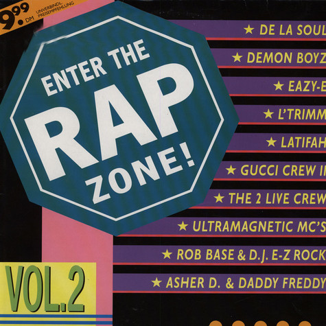 V.A. - Enter The Rap Zone! Vol. 2