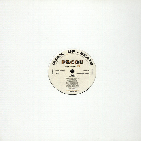 Pacou - Replicant EP