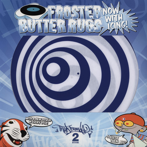 Frosted Butter Rugs - Twilight Zone Swirl Slipmats