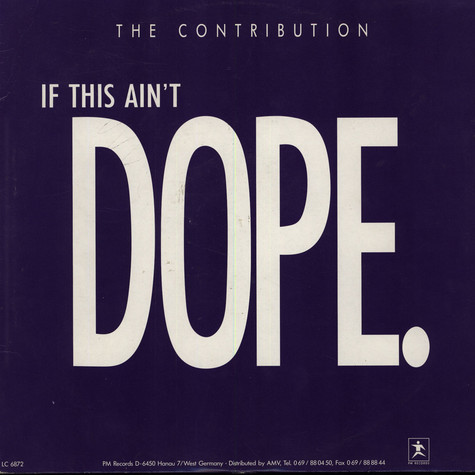 Contribution, The - If This Ain't Dope