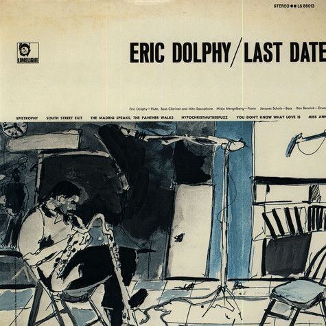 Eric Dolphy - Last Date