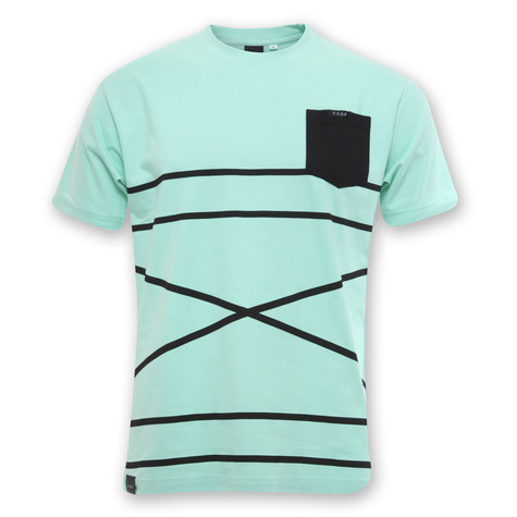 Akomplice - Cross Stripe T-Shirt