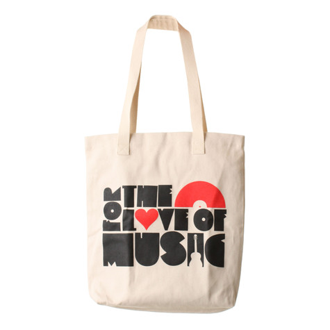 101 Apparel - For The Love Of Music Tote Bag