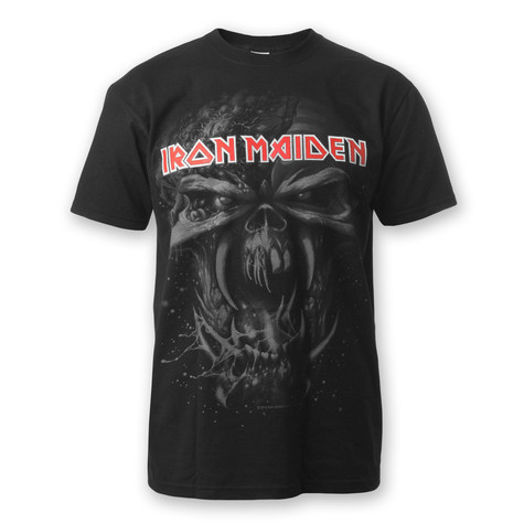 Iron Maiden - Silver Logo Watermark T-Shirt