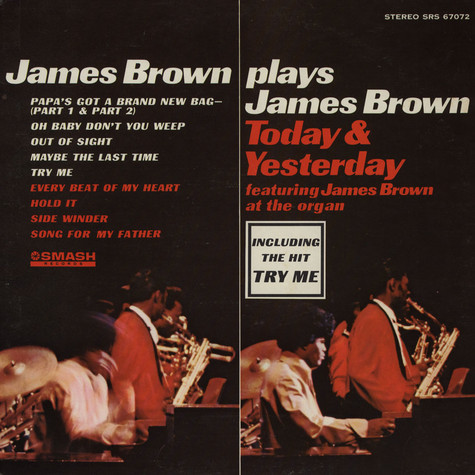 James Brown - James Brown Plays James Brown - Today & Yesterday