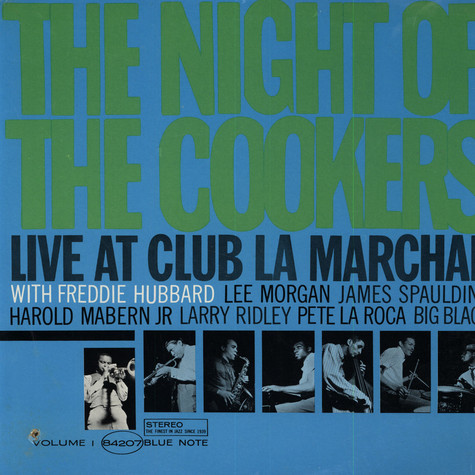 Freddie Hubbard - The Night Of The Cookers - Live At Club La Marchal Volume 2