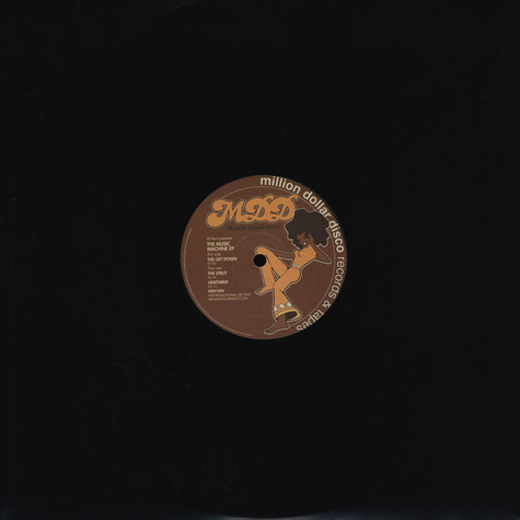 Al Kent Presents Million Dollar Disco - The Music Machine EP
