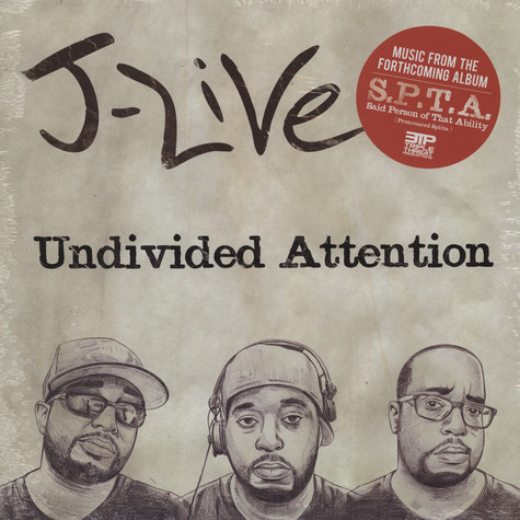 J-Live - Undivided Attention EP