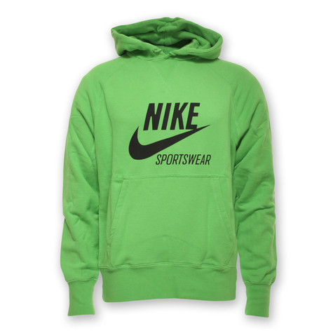c8c0102c6 Nike - AW77 Player Graphic Hoodie (Green Apple / Black) | HHV