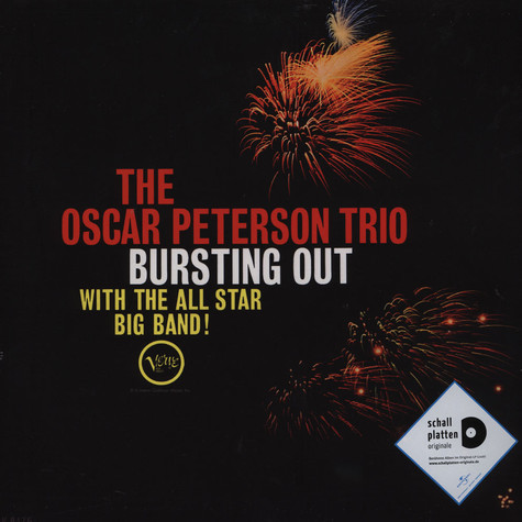 Oscar Peterson - Bursting Out With The All Star Big Band