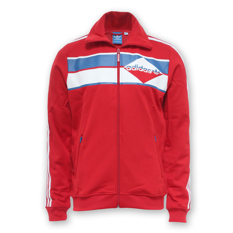 8a6d55d450 adidas - Beckenbauer Track Top (Collegiate Red   White)