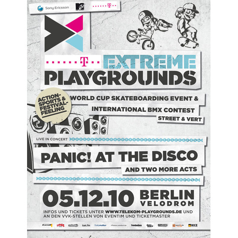 Telekom Extreme Playgrounds - Ticket für Berlin, 05.12.2010 @ Velodrom
