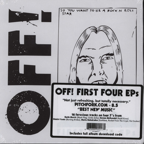 Off! - First Four EPs