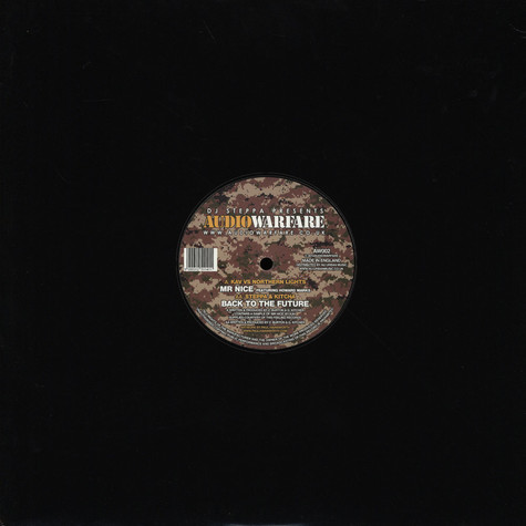KAV vs Northern Lights  / Steppa and Kitcha - Mr Nice Feat. Howard Marks / Back To The Future
