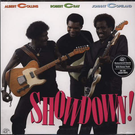 Albert Collins, Robert Cray & Johnny Copeland - Showdown