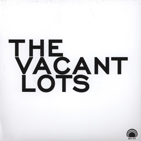 Vacant Lots - Confusion