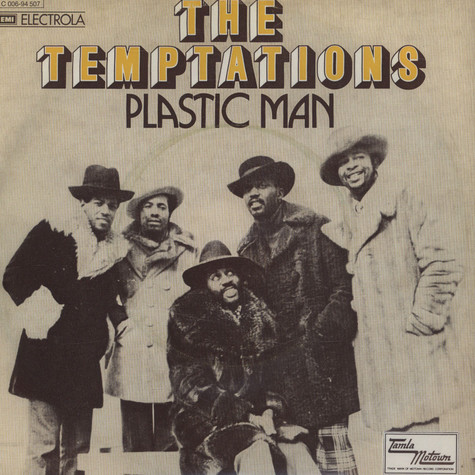 Temptations - Plastic Man